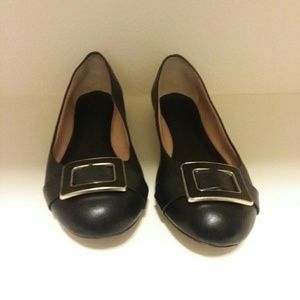 Banana Republic black leather shoes 10